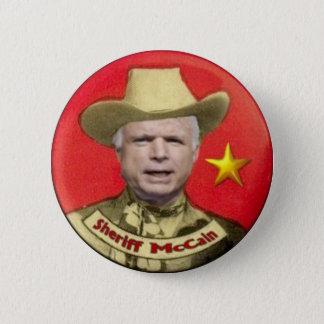 McCain Sheriff Button