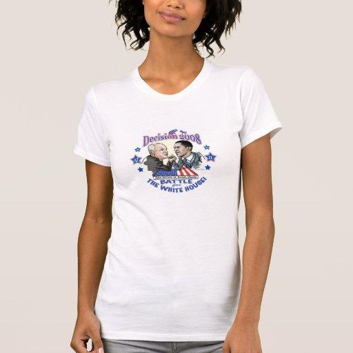 McCain vs Obama 2008 T-shirt