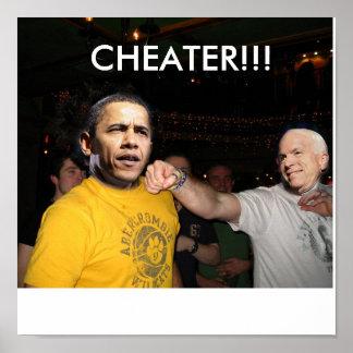 McCain Vs. Obama Poster