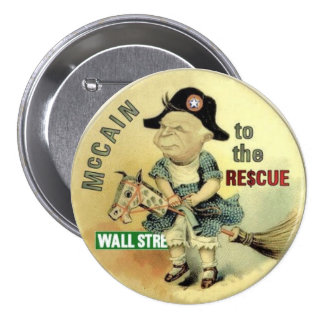 McCain Wall St. Rescue Button