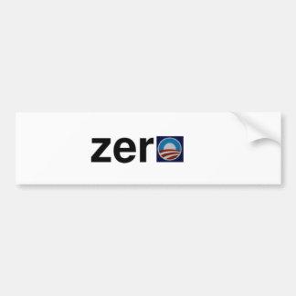 McCain Zero Bumper Sticker