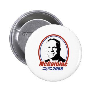 MCCAINIAC 2008 PINS