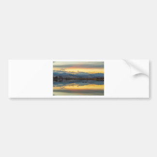 McCalls Lake Reflections Bumper Sticker