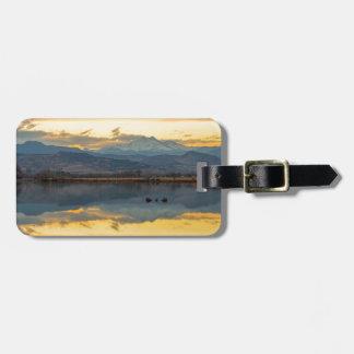 McCalls Lake Reflections Luggage Tag