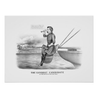 McClellan -- The Gunboat Candidate Posters