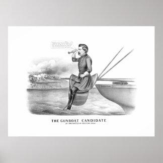 McClellan -- The Gunboat Candidate Print