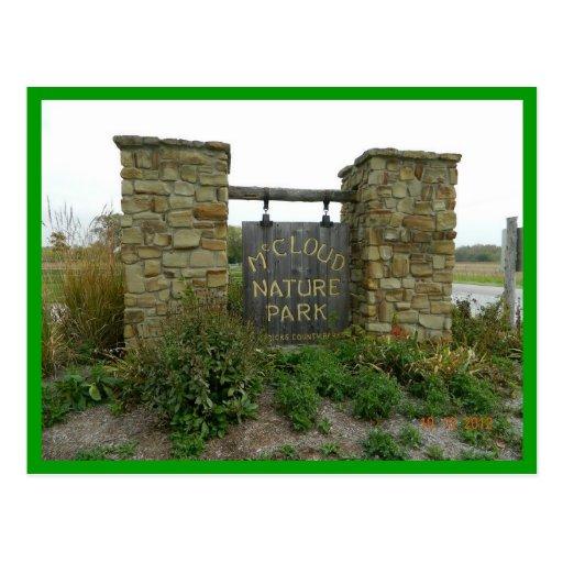 McCloud Nature Park Hendricks County Indiana Oct 2 Post Cards