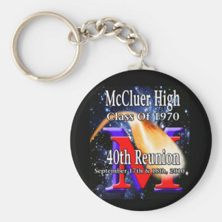McCluer High Class of '70 40th Reunion keychain