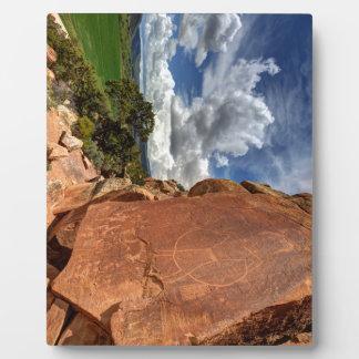Mcconkie Ranch Petroglyph - Utah Plaques