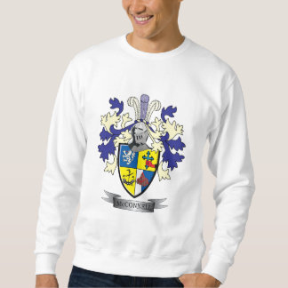 McConnell Family Crest Coat of Arms Sweatshirt