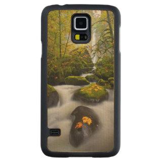 McCord Creek Bigleaf Maple | Columbia Gorge, OR Carved Maple Galaxy S5 Case