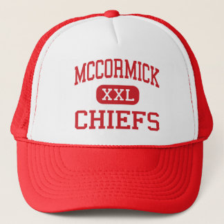 McCormick - Chiefs - High - McCormick Trucker Hat