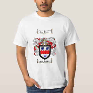 Mccormick Family Crest - Mccormick Coat of Arms T-Shirt
