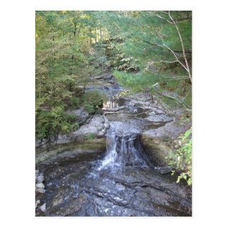 McCormick's Creek Waterfall Postcard