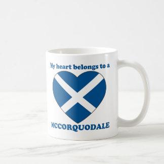 Mccorquodale Basic White Mug