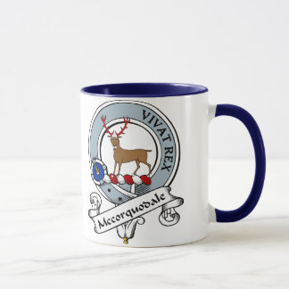 Mccorquodale Clan Badge Mug
