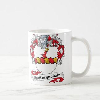 McCorquodale Family Crest Basic White Mug