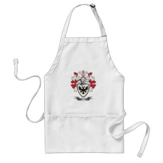 McCurdy Family Crest Coat of Arms Standard Apron