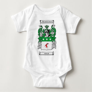McDevitt Coat of Arms Baby Bodysuit