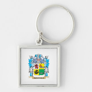 Mcdonald- Coat of Arms - Family Crest Key Chain