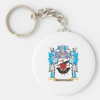 Mcdonald Coat of Arms - Family Crest Key Chains