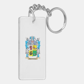 Mcdonald- Coat of Arms - Family Crest Key Chains