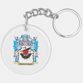 Mcdonald Coat of Arms - Family Crest Key Chain
