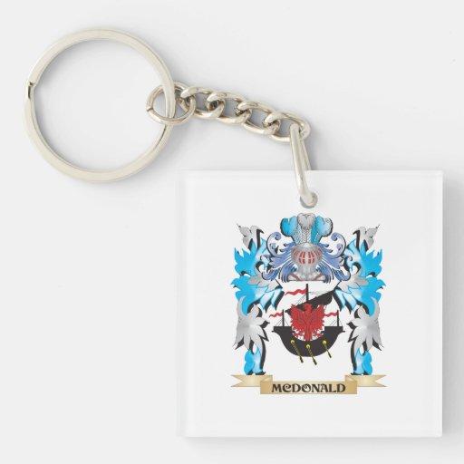 Mcdonald Coat of Arms - Family Crest Acrylic Keychain