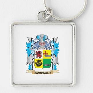 Mcdonald- Coat of Arms - Family Crest Keychains