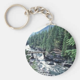 Mcdonald Creek - Glacier National Park Keychain
