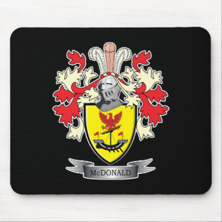 McDonald Family Crest Coat of Arms Mouse Pad
