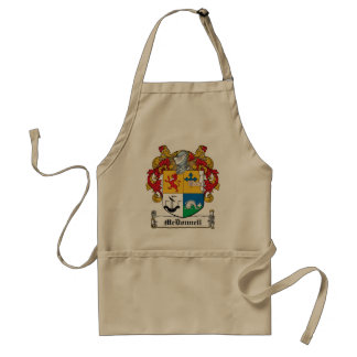 McDonnell Family Crest Standard Apron