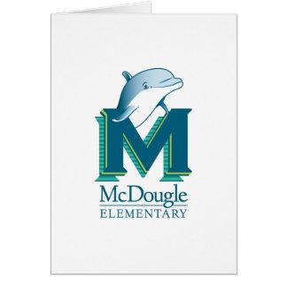 McDougle Dolphin Note Card