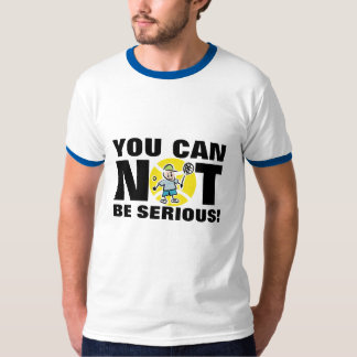 McEnroe outburst shirt | You can not be serious!