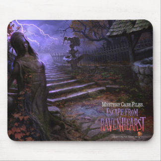 MCF: Escape From Ravenhearst Statue Mouse Pad
