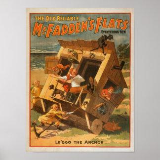 McFadden's Flats Theatrical Poster