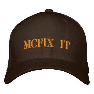 McFix It Logo Hat Embroidered Baseball Cap