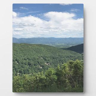 McGaheysville, Virginia Mountain View Plaque
