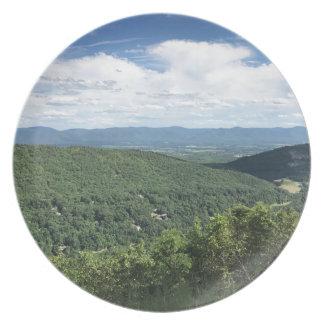 McGaheysville, Virginia Mountain View Plate