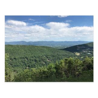 McGaheysville, Virginia Mountain View Postcard