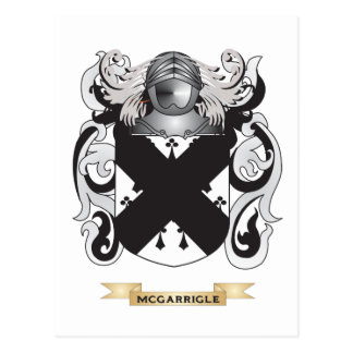 McGarrigle Coat of Arms (Family Crest) Postcards