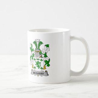 McGarry Family Crest Basic White Mug