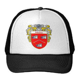 McGee Coat of Arms (Mantled) Cap