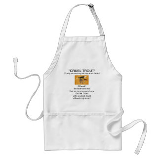 """""""McGinty Wet Fly-Cruel Trout""""  Apron"""