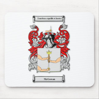 McGowan Coat of Arms Mouse Pad