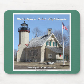 McGulpin's Point Lighthouse Mouse Pad