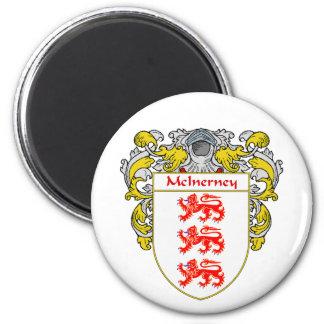 McInerney Coat of Arms (Mantled) Magnet