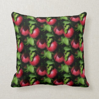 McIntosh Apples On The Tree Nature Pattern Pillows