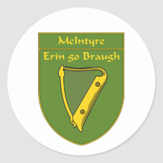 McIntyre 1798 Flag Shield Stickers