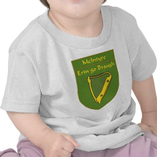 McIntyre 1798 Flag Shield T-shirts